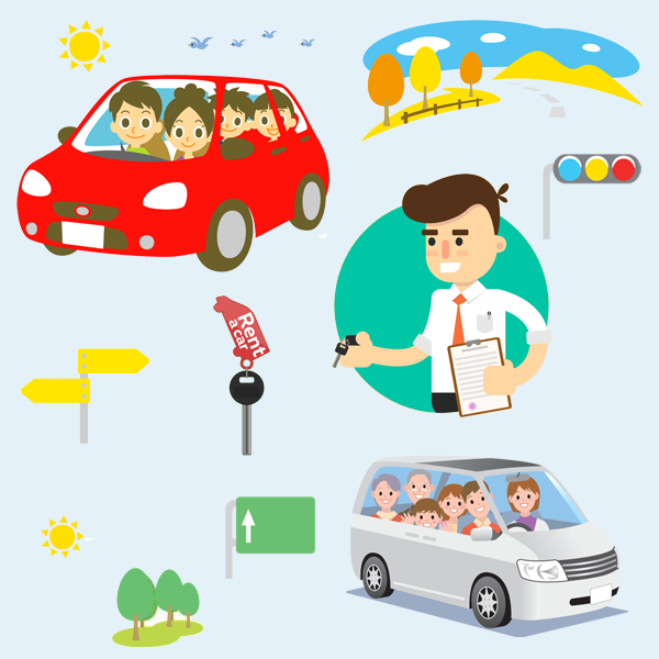 book your hire car rentals with ITS - Easy, Quick, Secure, Vroom!